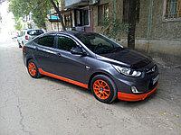 Обвес Tomato на Hyundai Accent (Solaris) 2010-2013, фото 1