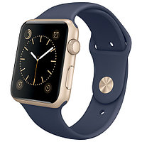 Смарт-часы Apple Watch Sport 42mm, 8Gb ROM Gold-Blue