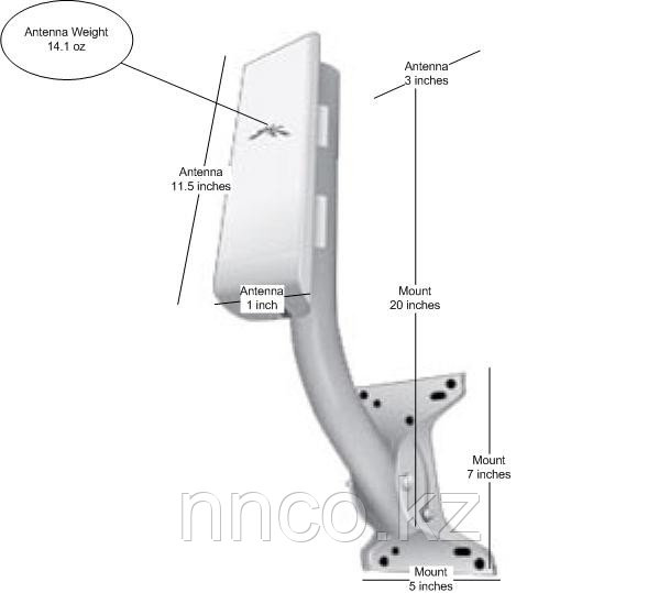 Кронштейн Ubiquiti Universal Arm Bracket UB-AM