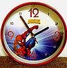 """Часы детские настенные """"Человек - паук"""""""