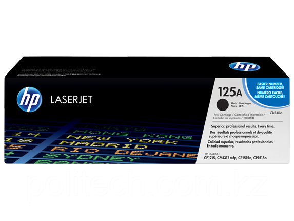 Cartridge HP/CB540A/Laser/black