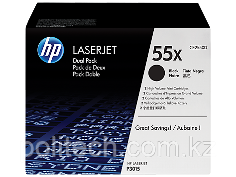 Cartridge HP/CE255XD/Laser/black