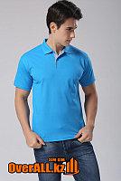 Синяя рубашка поло, фото 1