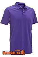 Фиолетовая футболка поло, фото 1