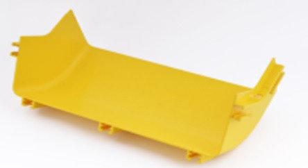 Внутренний  отвод 45° к кабельному коробу  Optiway 240x100, фото 2