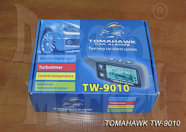 Автосигнализация Tomahawk TW-9010 - Dream Market в Алматы