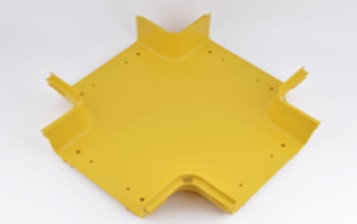 Х-образный отвод  к кабельному коробу  Optiway 240x100, фото 2