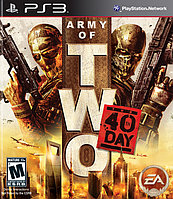 Игра для PS3 Army of Two The 40th Day (вскрытый)