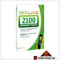Xbox Live 360 2100 Microsoft Points