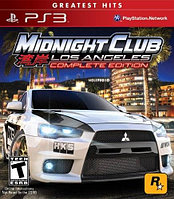 Игра для PS3 Midnight Club Los Angeles Complete Edition