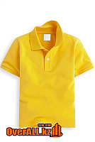 Желтая футболка поло для детей, фото 1