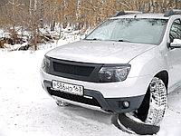 Реснички на фары Renault Duster