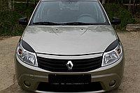 Реснички на фары Renault Sandero 09-13, фото 1