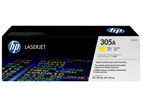Cartridge HP/CE412A/Laser/yellow