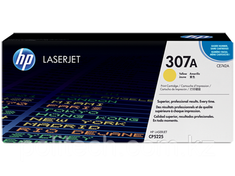 Cartridge HP/CE742A/Laser/yellow