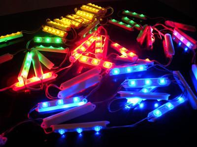 Пиксельный SMART модуль 3*SMD5050, RGB, 12V, IP67, WS2811, LPD6803, TM1903