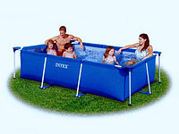 Каркасный бассейн Intex Rectangular Frame Pool 58980 (260х160х65 см)