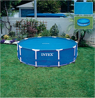 Тент Intex  солнечный для бассейна диаметр 366см , фото 1