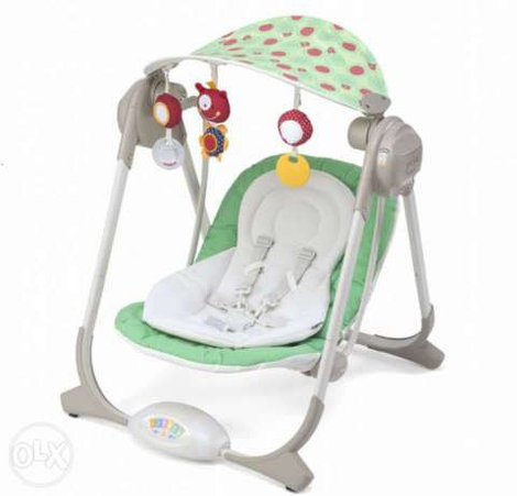 Кресло-качалка Chicco Polly Swing Greenland