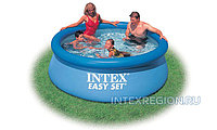 Надувной бассейн Intex Easy Set Pool  244 см х 76 см.