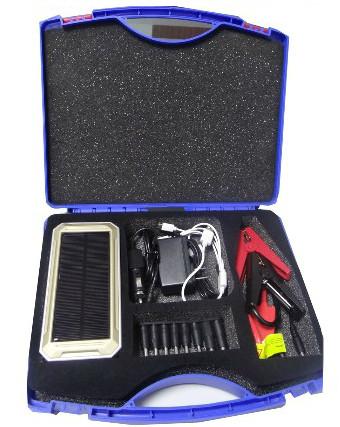 """Универсальное пуско-зарядное устройство """"JumpStarter Solar"""" с солнечной панелью отличается расширенной комплектацией"""