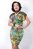 Эффектное платье Wisell. Размеры - 54, 56., фото 1