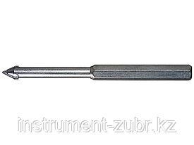 """Сверло ЗУБР """"ЭКСПЕРТ"""" центрирующее пикообразное для коронок 33350-хх, d=10мм, длина 135мм"""