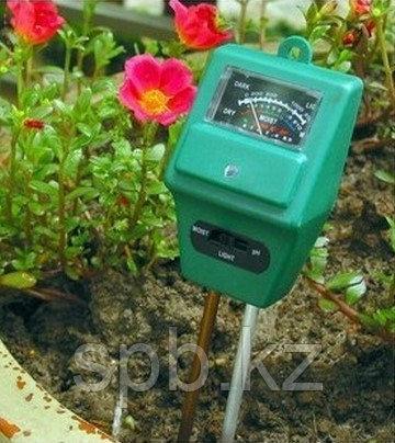 Измеритель влажности, уровня pH почвы и освещенности