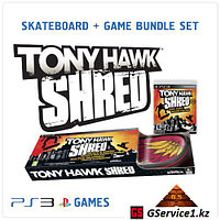 Tony Hawk SHRED Skateboard + Game Bundle Set (PS3)