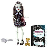 Monster High Frankie Stein Doll with Watzit pet(Френки Штейн с питомцем)