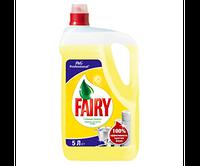 FAIRY Лимон, средство для ручного мытья посуды, 5л