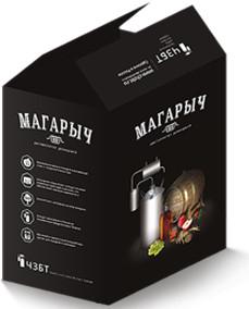 Самогонный аппарат МАГАРЫЧ МАШКОВСКОГО 12л поставляется покупателям в стильной современной упаковке