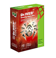 Dr. Web Security Space PRO, на 12 месяцев, на 2 ПК box