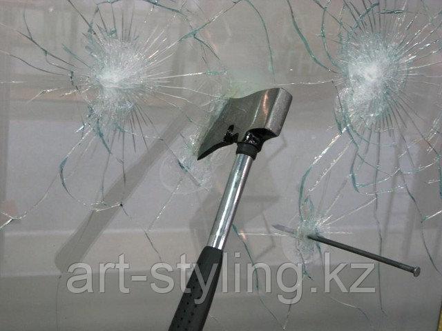 Укрепление стекол ударопрочной (защитной) пленкой в Астане