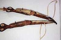 Камшы из натуральной кожи и рога, фото 1