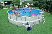 Каркасный бассейн Intex 549х132см +фильтр+лестница 28332, фото 1