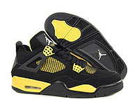 Кроссовки Air Jordan 4(IV) Black Yellow (36-45), фото 1