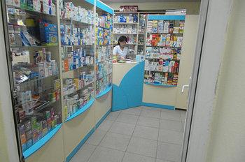 Витрины фасадные для аптек