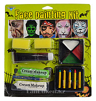 Аквагрим Face Painting Kit, краски для лица, набор аквагрима