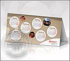 Настольный календарь перекидной, календари, изготовление календарей, фото 8
