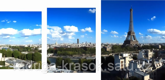 """Картина по номерам """"Париж"""""""