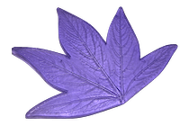 Молд лист пиона Большой