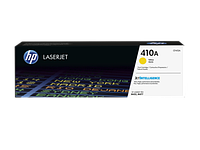 HP CF412A 410A Yellow LaserJet Toner Cartridge for Color LaserJet Pro M452/M477, up to 2300 pages