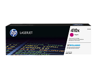 HP CF413X 410X Magenta LaserJet Toner Cartridge for Color LaserJet Pro M452/M477, up to 5000 pages