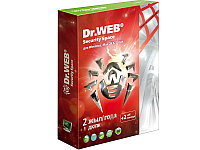 Antivirus Dr.Web Security Space PRO Silver на 24 м., на 1 ПК box + 2 месяца (351266)