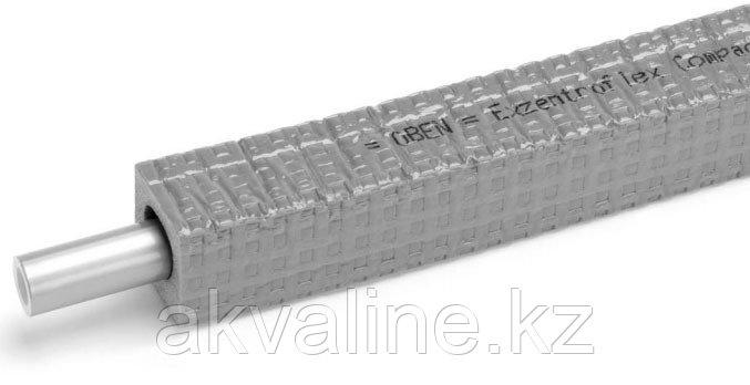 Универсальная труба RAUTITAN flex 20 х 2,9 прямоугольная изоляция 9мм, REHAU Германия