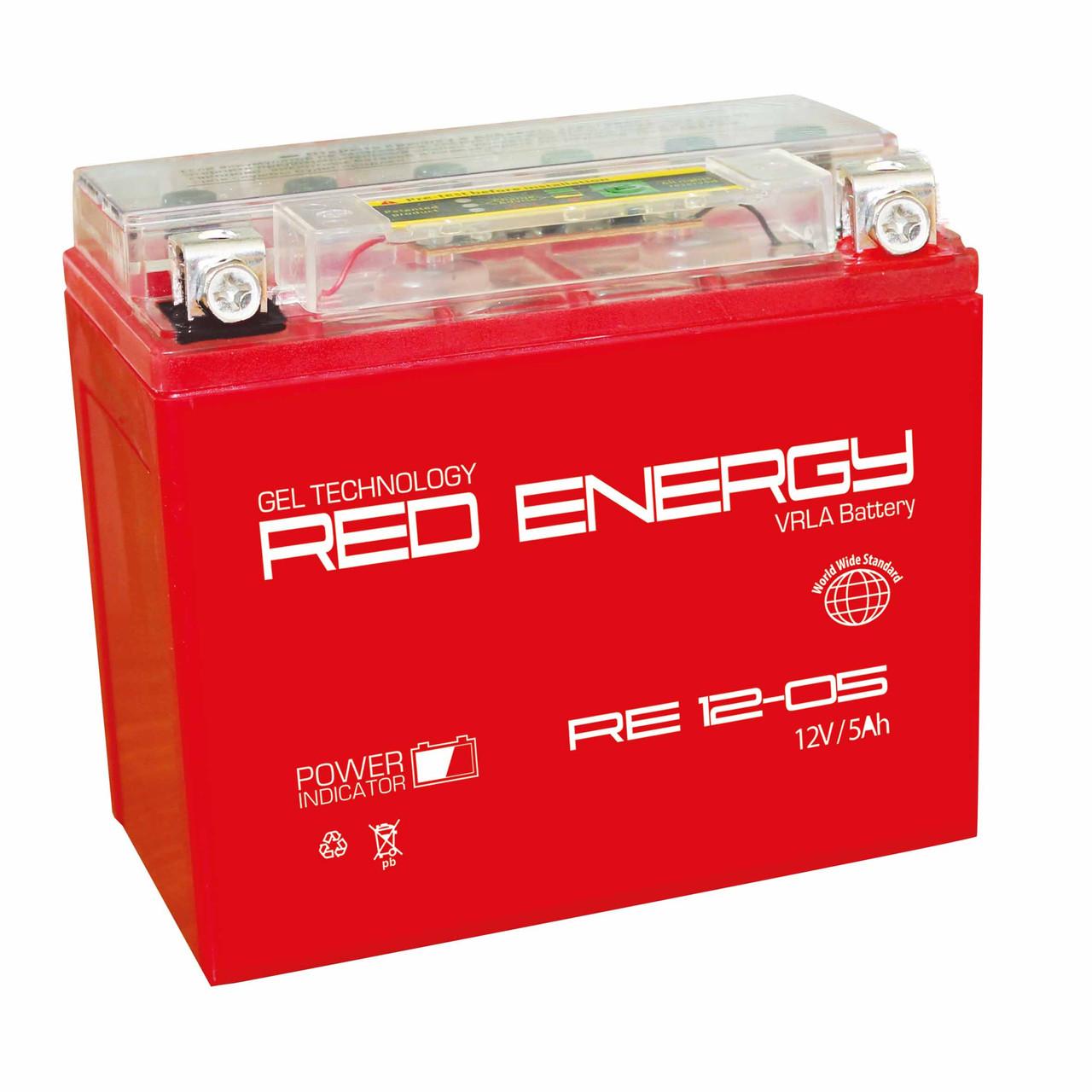 Аккумулятор RED ENERGY RE 12-05