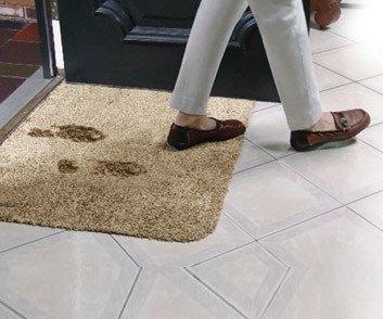 Супервпитывающий придверный коврик Clean Step Mat New, фото 2