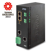 IP30 Industrial Solar Power PoE Switch (-20 to 60 degree C), 2-P
