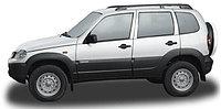 Рейлинги с поперечинами Chevrolet Niva